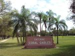 Entering Coral Gables