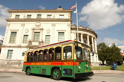 The Coral Gables Trolley